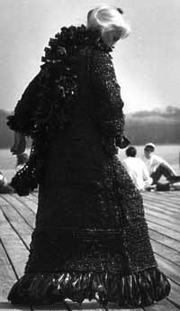 handknit coat by Katharine Cobey